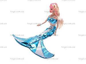 Кукла-русалка с дочкой и дельфином, 0228C, магазин игрушек