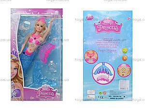 Кукла-русалка с музыкой и светом, 8655R-7B
