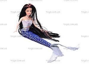 Кукла-русалка с набором костюмов, 66354