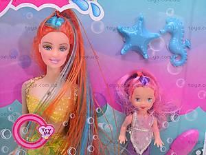 Кукла-русалка с ребенком, 169-3, фото