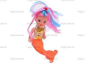 Кукла-русалка с ребеночком, музыкальная, 170-2, отзывы