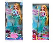Красивая кукла - русалка с эффектами, ZR-358-AB, отзывы