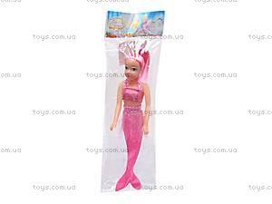 Кукла-русалочка, 4 вида, 118AA, цена