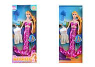 Кукла «Русалочка» в наборе с платьем, 191-1(1353557), оптом
