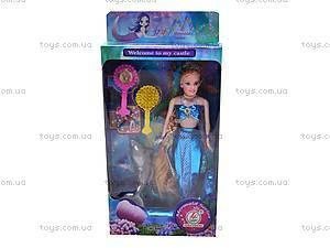 Кукла-русалочка с аксессуарами, 60652, фото