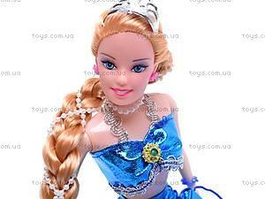 Кукла-русалочка с аксессуарами, 60652, игрушки