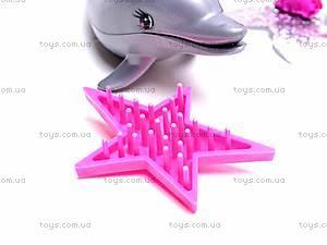 Кукла-русалочка с дочкой и дельфином, 0228B, купить