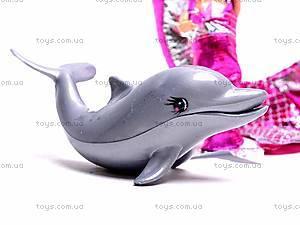Кукла-русалочка с дочкой и дельфином, 0228B, фото