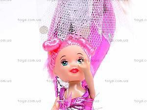 Кукла-русалочка с дочкой и дельфином, 0228B, цена