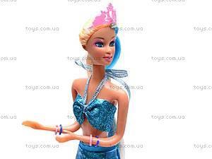 Кукла «Русалочка» с морским коньком, 8225, купить