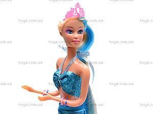 Кукла «Русалочка» с морским коньком, 8225, фото