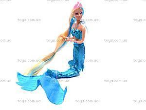 Кукла «Русалочка» с морским коньком, 8225
