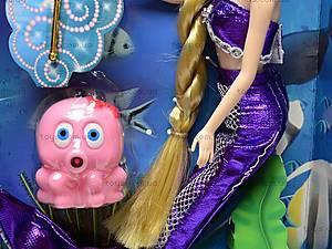 Кукла «Русалочка» с питомцем, 55200, игрушки