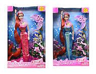 Кукла - русалочка с музыкой, 8230, цена