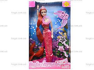 Кукла - русалочка с музыкой, 8230, фото