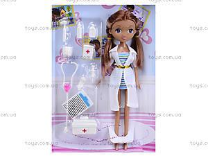 Детская кукла «Доктор Плюшева» с аксессуарами, G24, фото