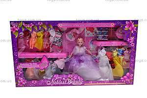 Кукла с аксессуарами и нарядами, 89088, фото