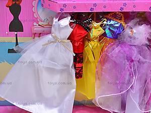 Кукла с аксессуарами и нарядами, 89088, игрушки
