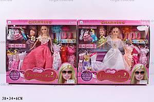 Кукла, с аксессуарами и ребенком, 116-2