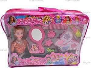 Кукла с аксессуарами в чемодане, 83057B, фото