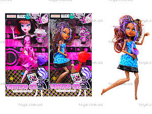 Кукла с аксессуарами Monster Girl, для детей , Q30-B12B22B32