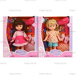 Кукла с аксессуарами «Создай свою прическу», 12517