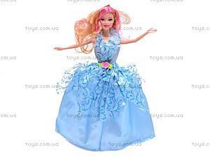 Кукла с большим гардеробом, 6688-1