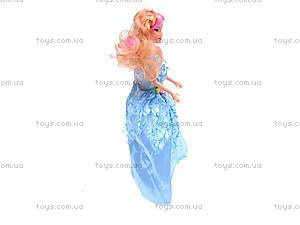 Кукла с большим гардеробом, 6688-1, игрушки