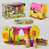 "Кукла с домиком ""Рапунцель"", ZT8683, toys.com.ua"