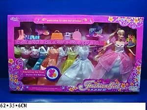 Кукла, с гардеробом, 89032