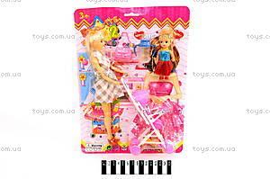 Кукла, с коляской, 38419С
