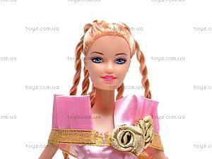 Кукла с комплектом платьев, 8010-A1, детские игрушки