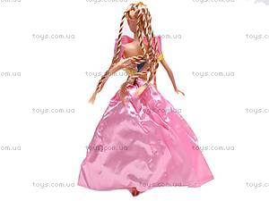 Кукла с комплектом платьев, 8010-A1, магазин игрушек