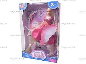 Кукла с конем-единорогом, 66285