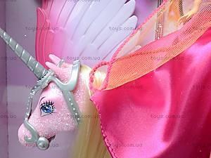 Кукла с конем-единорогом, 66285, цена