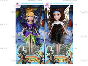 Кукла с крыльями «Фея», 8890, фото