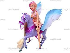 Кукла с лошадкой детская, 66406, фото