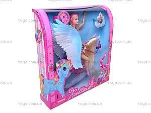 Кукла с лошадкой детская, 66406
