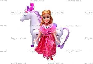 Кукла с лошадкой для девочек, 00507, фото