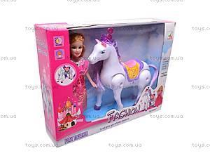 Кукла с лошадкой для девочек, 00507, отзывы