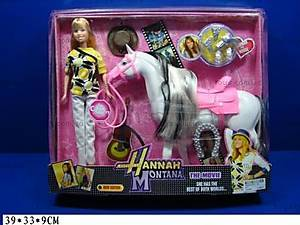 Кукла с лошадью Hannah Montana, 8011