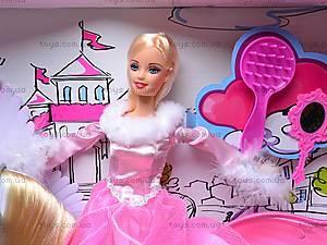 Кукла с лошадью и аксессуарами, 66305, игрушки