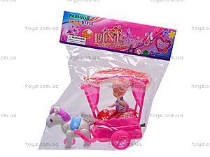 Кукла с лошадью и каретой, 338A, отзывы