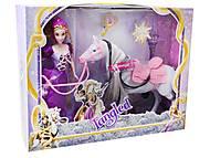 Кукла с лошадью «Рапунцель», 1372, фото