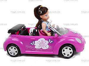 Детская кукла с машиной и собачкой, K899-14, купить