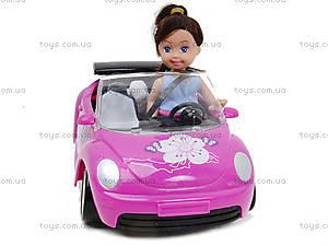 Детская кукла с машиной и собачкой, K899-14, фото