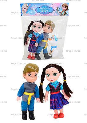 Набор кукол с мультика «Ледяное сердце», C1024