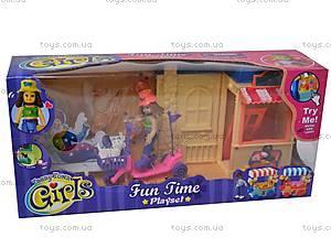 Кукла с музыкальным домиком, 093011ABC, детские игрушки