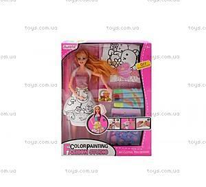 Кукла с набором для окрашивания волос, 903