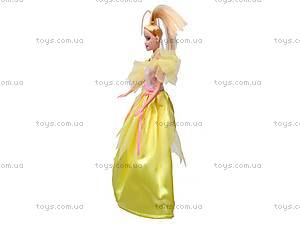 Кукла, с набором платьев, 888B, фото